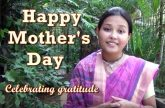 Happy Mothers Day: Celebrating Gratitude