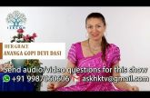 Ask a Hare Krsna Episode 01 (Answers By Ananga Gopi Devi Dasi) - Women Special