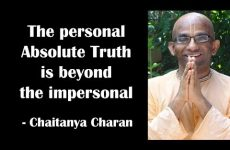 The personal Absolute Truth is beyond the impersonal | Gita 15.04