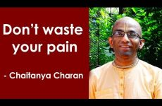 Don't waste your pain | Gita 01 .29 | Gita Daily