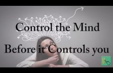 Don't let the mind control the activities meant to control the mind Gita 06.26