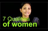 7 Qualities of women