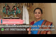 Ask a Hare Krsna Episode 02 (Answers By Gokul Vilasini Devi Dasi) - Women Special