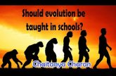 Should evolution be taught in schools? | QA Series on Mind | Chaitanya Charan