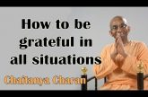 How to be grateful in all situations | Gita 18.58 | Gita Daily