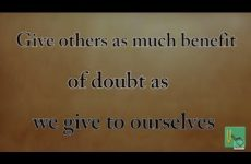 Give others as much benefit of doubt as we give to ourselves | Gita 16.02